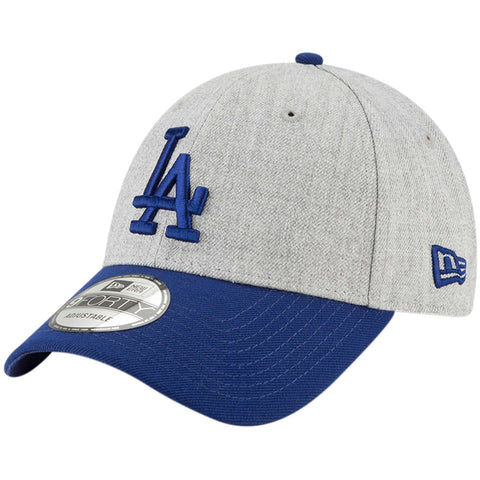 Los Angeles Dodgers Velcro Adjustable New Era 9Forty The League Cap Hat Wool Blue