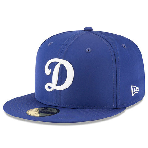 Los Angeles Dodgers Fitted New Era 2018 On-Field Prolight Batting Practice 59FIFTY Hat