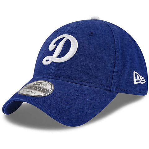 Los Angeles Dodgers Strapback Adjustable New Era D Core Class Blue