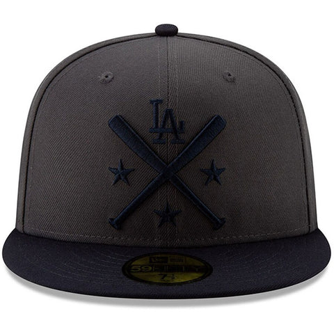 Los Angeles Dodgers Fitted New Era 59Fifty All-Star Workout Charcoal Cap Hat