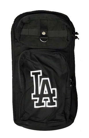 Los Angeles Dodgers New Era Slim Pack Backpack Black