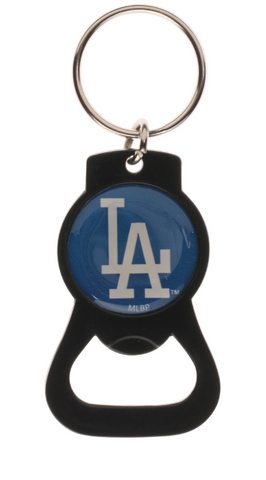 Los Angeles Dodgers Key Chain Bottle Opener Key Ring Black