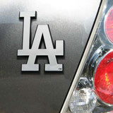 Los Angeles Dodgers Auto Emblem Chrome