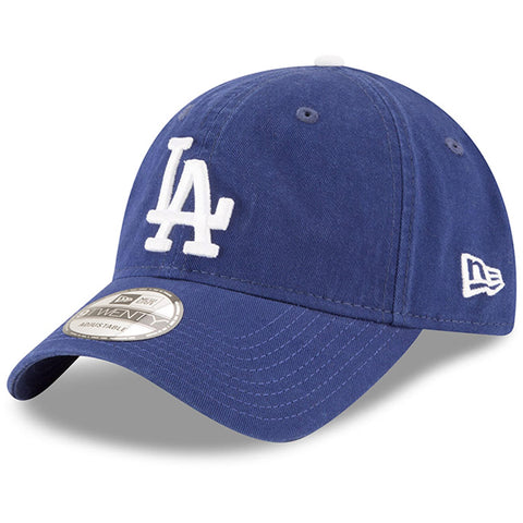 Los Angeles Dodgers Strapback New Era 9Twenty Core Class Cap Hat Blue