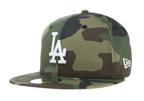 Los Angeles Dodgers Fitted New Era 59Fifty Camo Cap Hat