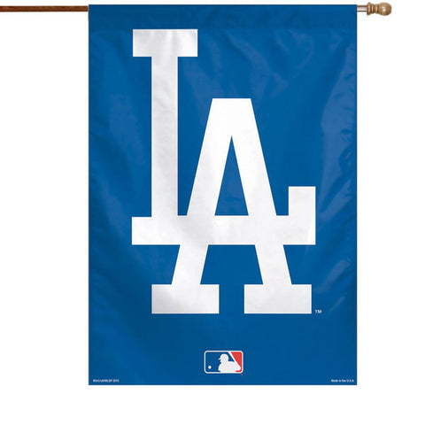 Los Angeles Dodgers Bar Home Decor Flag Big Logo Single-Sided Vertical Banner