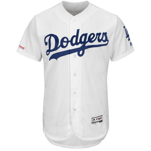 Los Angeles Dodgers Mens Jersey Authentic Collection 150 Anniversary White Flex Base