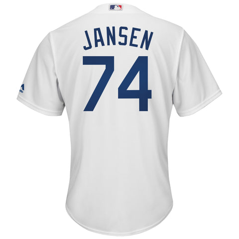 Los Angeles Dodgers Mens Jersey #74 Kenley Jansen Majestic Cool Base White