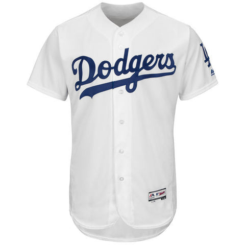 Los Angeles Dodgers Mens Jersey Authentic Collection Majestic White Flexbase Team