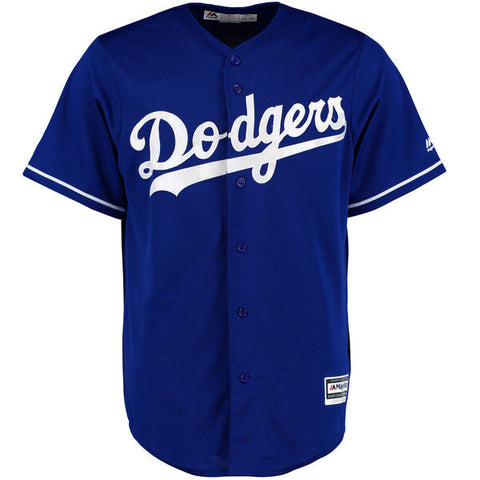 Los Angeles Dodgers Mens Jersey Majestic Cool Base Alternate Jersey Royal Blue