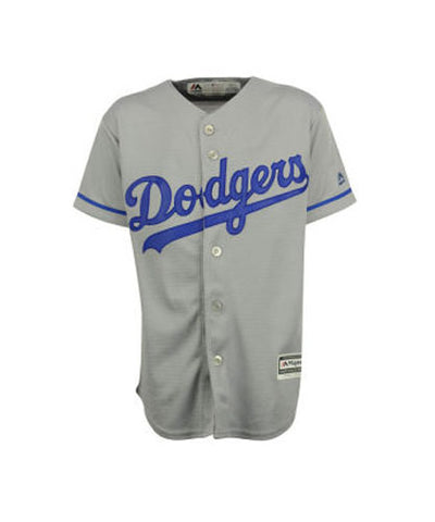 Los Angeles Dodgers Youth Jersey Majestic Cool Base (8-20) Replica Grey