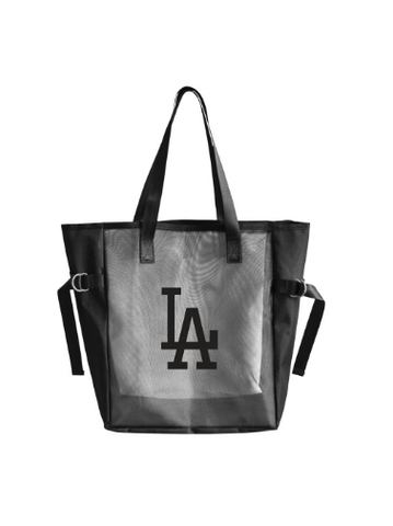 Los Angeles Dodgers Mesh Tailgate Tote Black