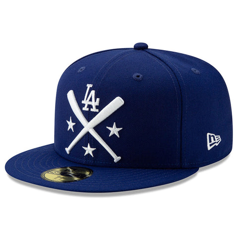 Los Angeles Dodgers Fitted New Era 59Fifty All-Star Workout Blue Cap Hat