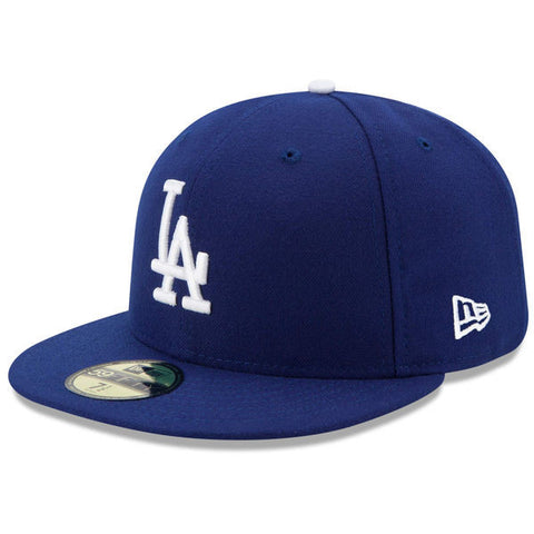 Los Angeles Dodgers Fitted New Era 59FIFTY On Field Blue Cap Hat