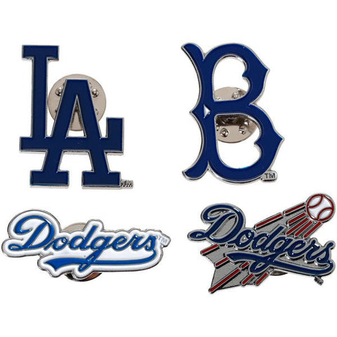Los Angeles Dodgers Pin Set Logo Evolution Collectible