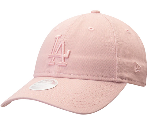 Los Angeles Dodgers Strapback New Era 9Twenty Adjustable Pink Rouge Cap Hat
