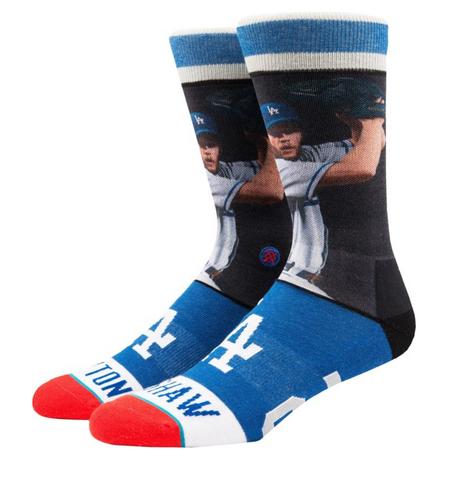 Los Angeles Dodgers Mens Stance Clayton Kershaw Legend Socks