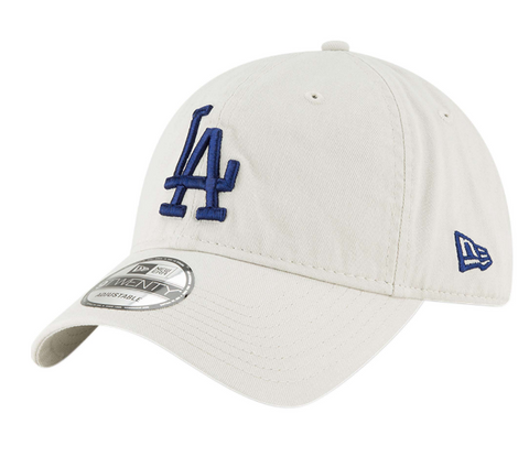 Los Angeles Dodgers Strapback New Era 9Twenty Adjustable White Cap Hat