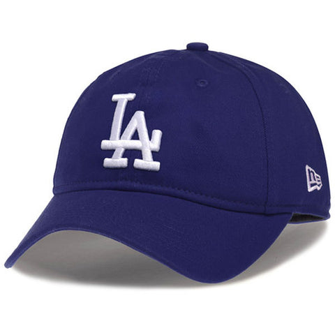Los Angeles Dodgers Strapback Women's New Era 9TWENTY Adjustable Hat Blue