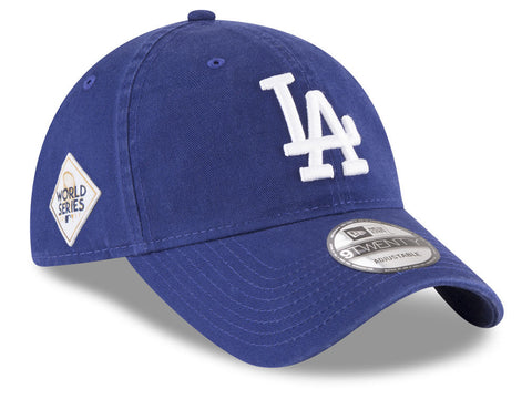 Los Angeles Dodgers Strapback New Era 2017 Classic World Series Patch Cap