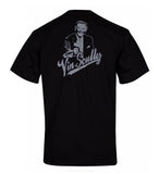 Los Angeles Dodgers Mens T-Shirt Vin Scully Black
