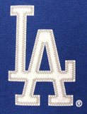 Los Angeles Dodgers Womens Jersey V-Neck T-Shirt Ladies Blue