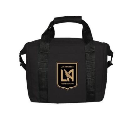 Los Angeles FC 12-Pack Cooler Lunch Bag Black