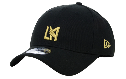 eb02539b05f Los Angeles FC New Era 9Forty Adjustable Black Cap Hat