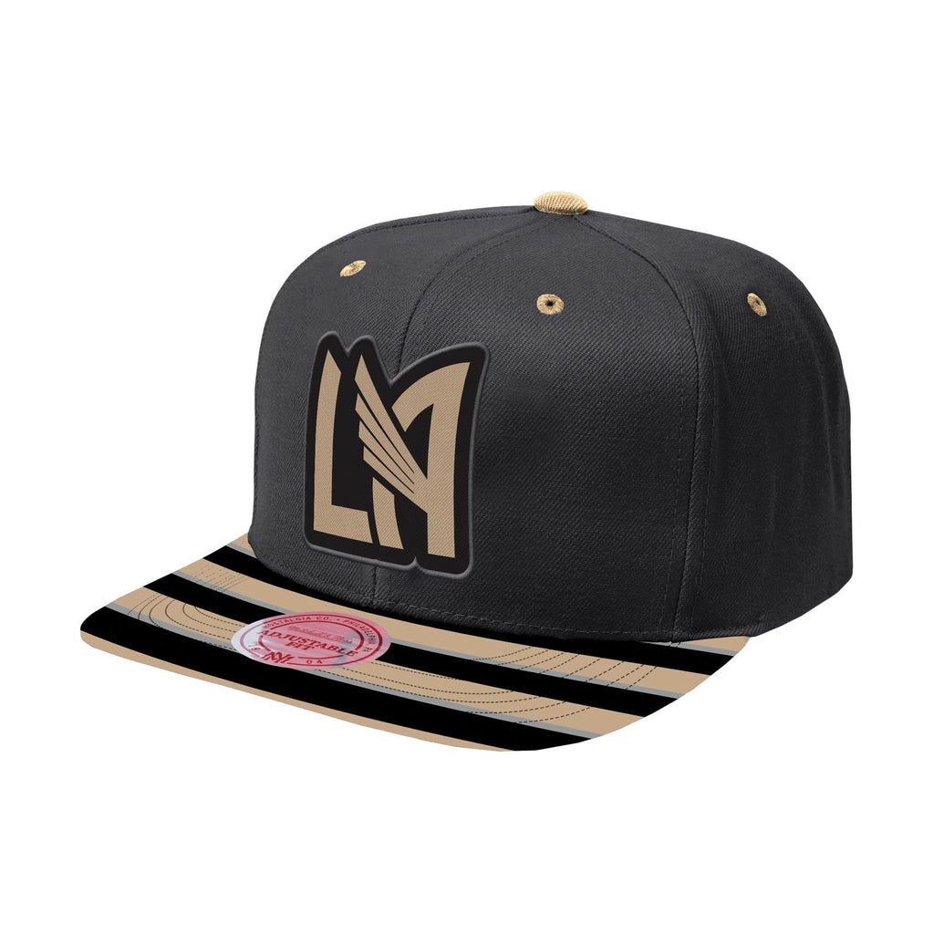 5a024272ba5121 Los Angeles FC Snapback Diamond Mitchell & Ness Black Gold Hat Cap – THE  4TH QUARTER