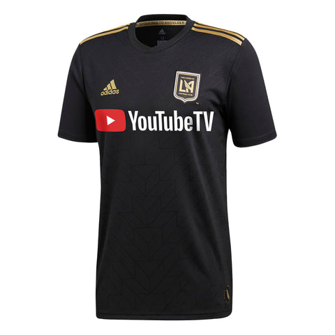 Los Angeles FC Mens Jersey Adidas Home Replica Black
