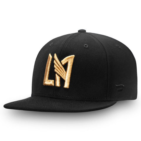 2b7e0c7f8dc Los Angeles FC Snapback Fanatics Primary Logo Black Cap Hat