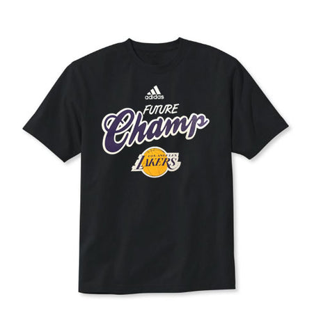 Los Angeles Lakers Infant T-Shirt Adidas Champs Black