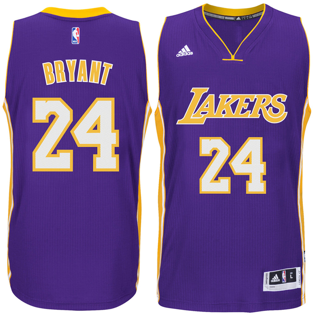 Los Angeles Lakers Mens Jersey Adidas  24 Kobe Bryant Climacool Swingm –  THE 4TH QUARTER 40943ae75a0d