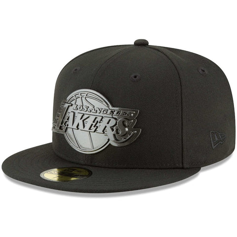 Los Angeles Lakers Fitted New Era Sleeked Finish 59FIFTY Hat Cap
