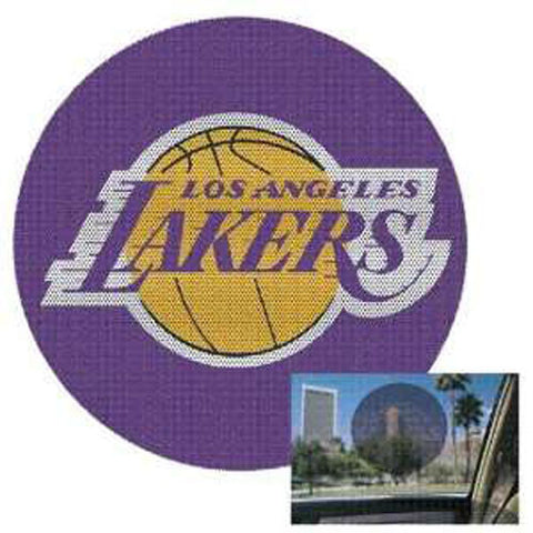 Los Angeles Lakers Decal 8'' Perforated