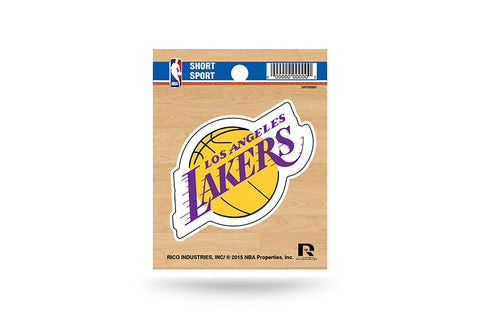Los Angeles Lakers Small Sticker Short Sport Set of 2