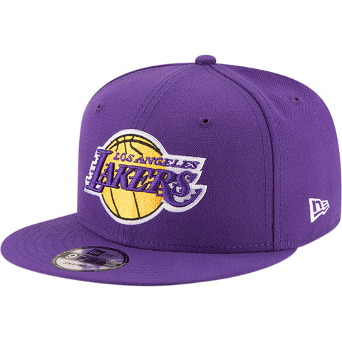 Los Angeles Lakers Snapback New Era 9Fifty Basic Logo Cap Hat Purple