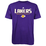 Los Angeles Lakers Mens T-Shirt Adidas Basketball SIZE XL