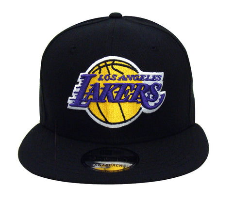 Los Angeles Lakers Snapback New Era Basic Cap Hat Black