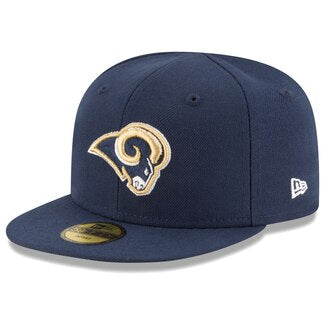 Los Angeles Rams Infant My 1st New Era 59Fifty Logo Cap Hat Navy