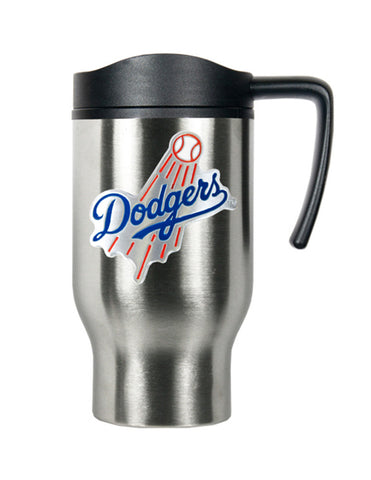 Los Angeles Dodgers 16oz Stainless Steel Logo Tumbler Travel Mug Cup