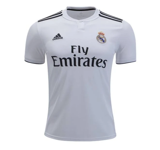 super popular 3f129 292cd Real Madrid Men's Adidas Jersey White