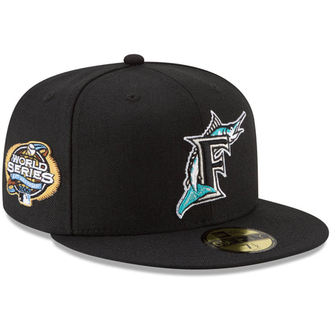 Florida Marlins Fitted New Era 59FIFTY 2003 World Series Cap Hat