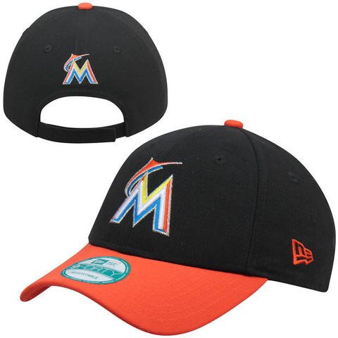 Miami Marlins Velcro New Era 9Forty Adjustable The League Cap Hat