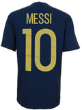 Argentina Men's #10 Lionel Messi Adidas Player T-Shirt