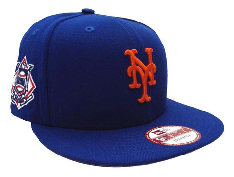 New York Mets Snapback New Era Baycik Cap Hat Blue