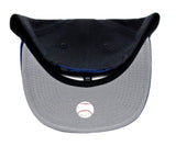 New York Mets Snapback New Era Heather Graphite Cap Hat Charcoal Blue