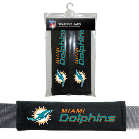 Miami Dolphins Seat Belt Shoulder Pad Covers