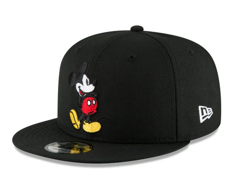 Mickey Mouse Disney New Era 9Fifty Snapback Hat Cap Black