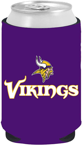 Minnesota Vikings 12oz Kolder Can Cooler Kaddy Holder